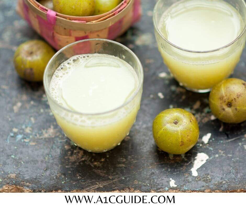 how to make amla juice for diabetes