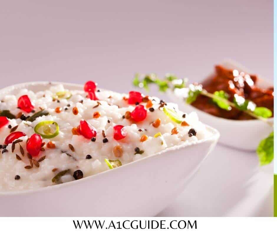 glycemic index of curd rice