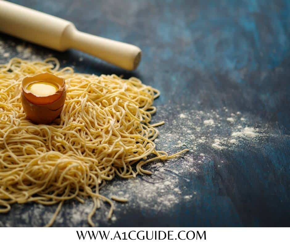 egg noodles and diabetes