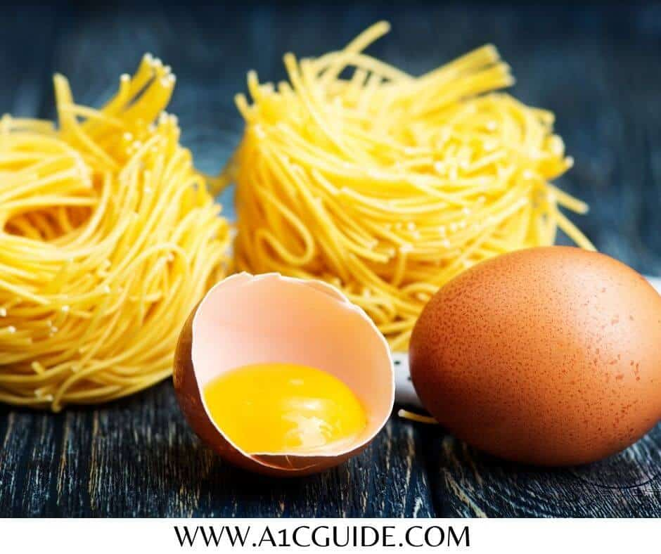 egg noodles glycemic index
