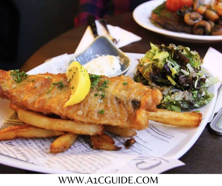 can diabetics eat fish and chips