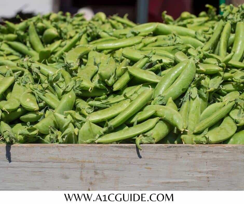 sweet snap peas