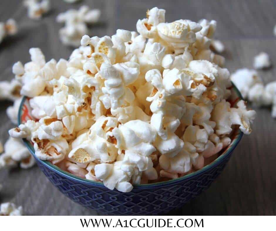 can diabetics eat popcorn