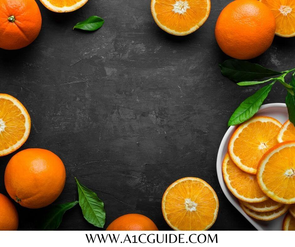How many oranges can a diabetic eat per day