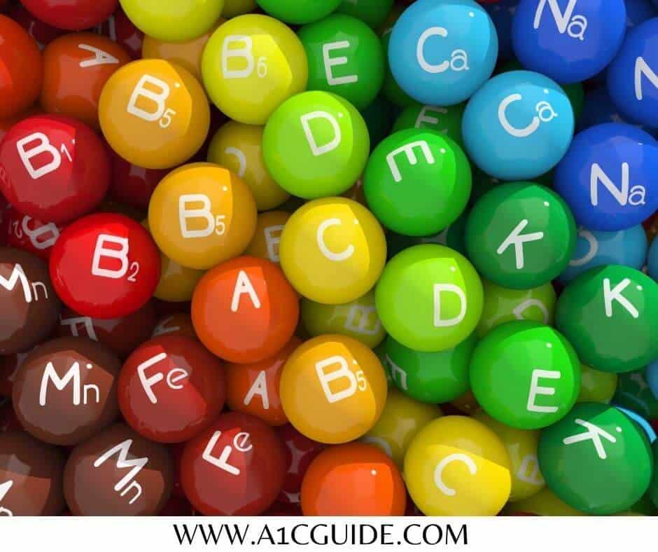 vitamins for type 1 diabetes