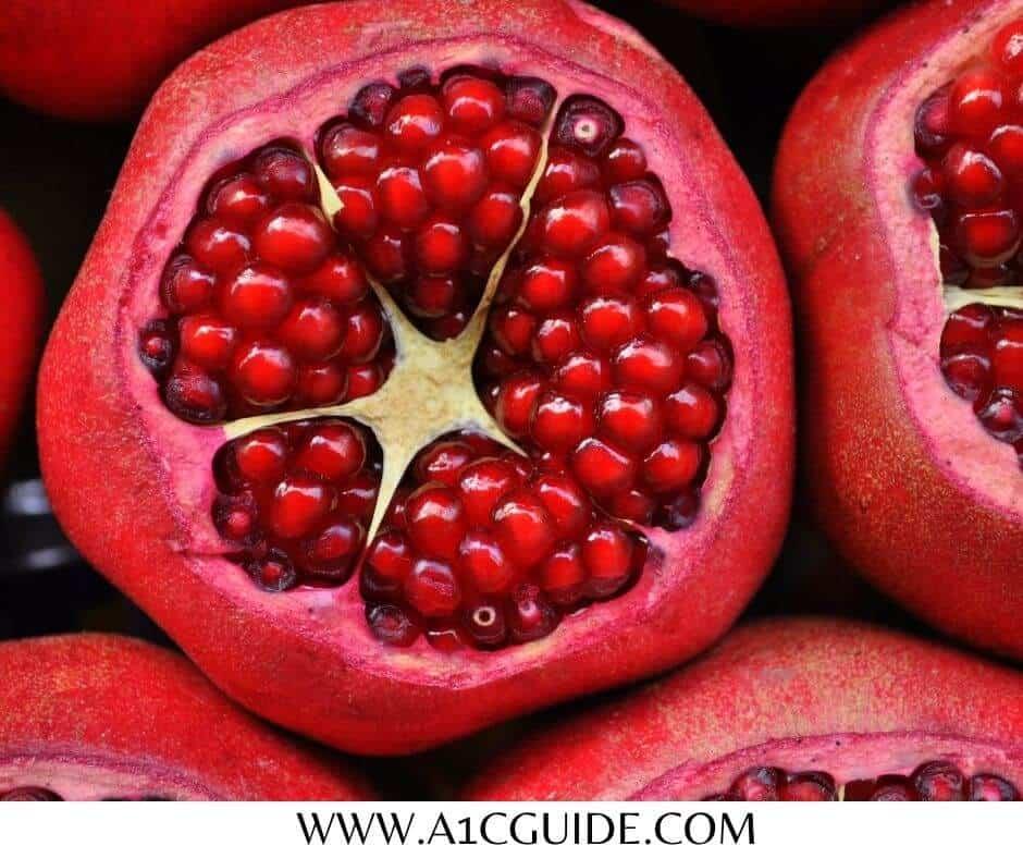 pomegranate for diabetes