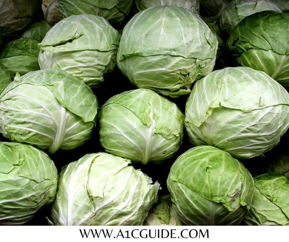 cabbage benefits for diabetes
